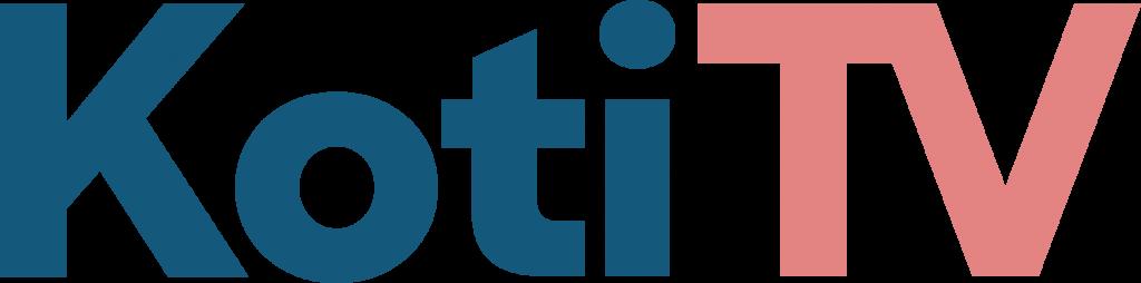 Koti TV logo ja linkki Koti TV nettisivuille
